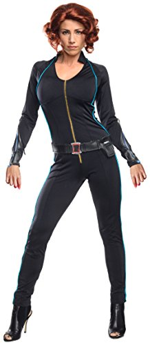 Avengers 2 Age of Ultron Black Widow Costume, Black, X-Small - Avenger Costumes For Adults
