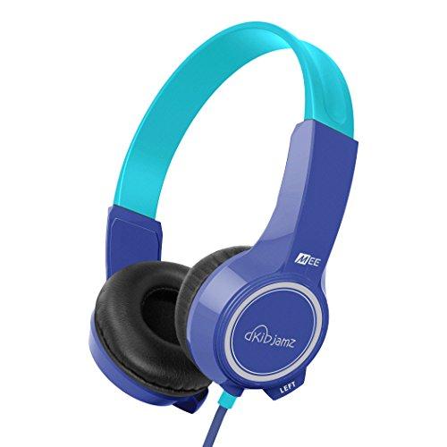 Price comparison product image MEE audio KidJamz KJ25 Safe Listening Headphones for Kids with Volume-Limiting Technology (Blue)