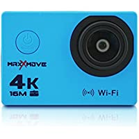 MaxXmove MXM-AC-RIZEH4-BLU 30fps 4K Action Camera, Blue