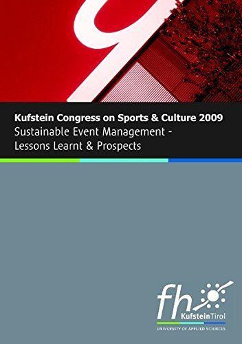Kufstein Congress on Sports and Culture 2009 (German Edition)