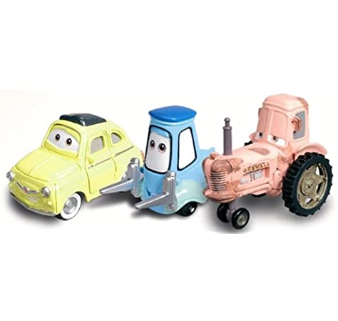Amazon Com Luigi Guido Tractor Character Vehicle Set From