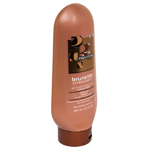 Density Enhancing Shampoo - Pantene Pro-V Brunette Expressions Daily Color Enhancing Conditioner for Lighter Brunette Shades, Toffee to Almond, 13.5 fl oz (400 ml)