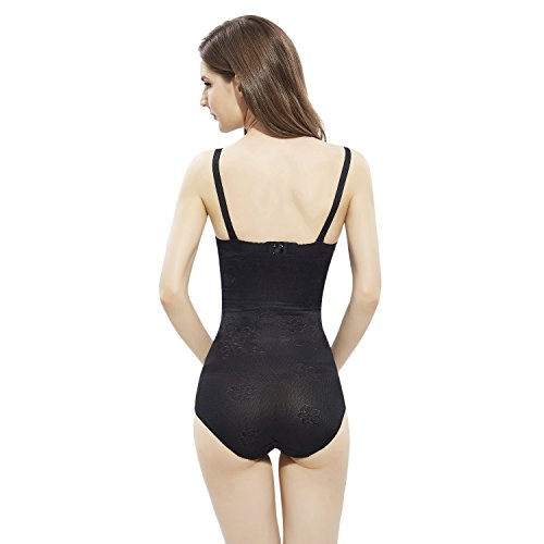 a mutandine controllo Contenitive Alta Black Contenitiva WhiFan Dimagrante Guaina Pantaloncini A Donna Vita Mutande Shapewear Thong 7n0Oqt