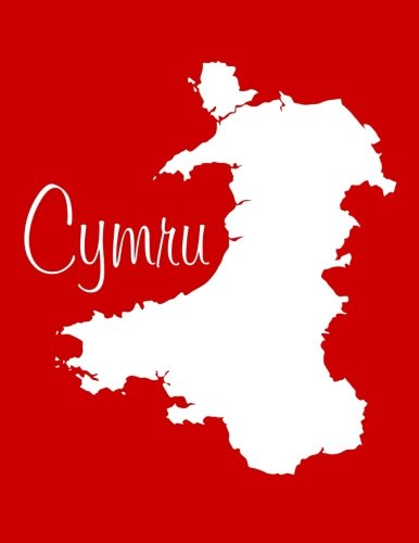 Read Online Cymru - Red 101 -  Lined Notebook with Margins - 8.5X11: 101 Pages, Medium Ruled, Journal, Soft Cover pdf