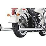 Cobra-Softail-Duals-Full-Exhaust-Chrome-with-Fishtail-Tips-6987
