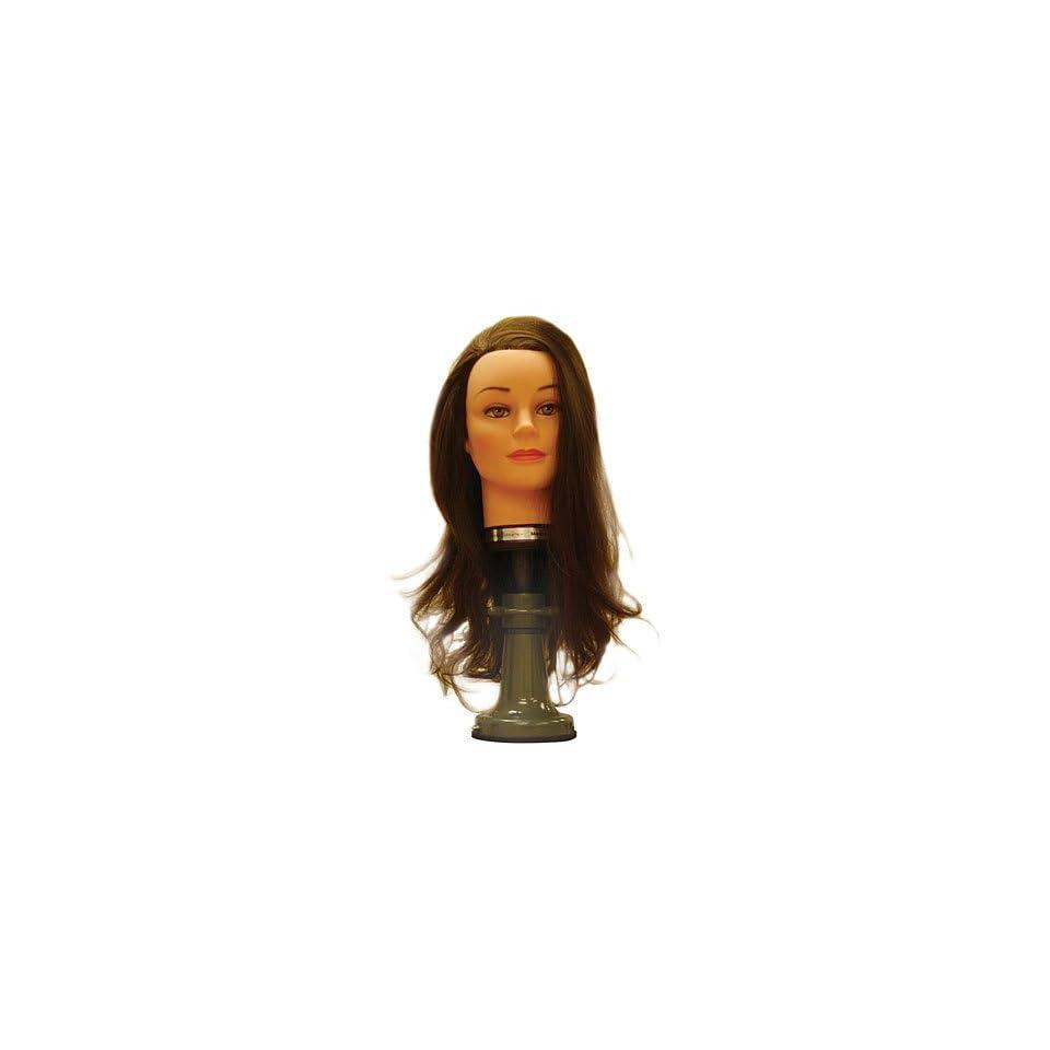 Marianna 18 20 Cosmetology Mannequin Head 100% Human Hair   Miss Amerikin