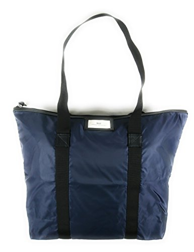 GWENETH Woman DAY dark from ET BAG nylon ashalt waterproof blue grey in qEqUw