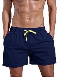 Men's Quick Dry Swim Trunks Bathing Suit Beach Shorts