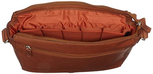 Jost Bolso bandolera, marrón (Beige) - 8644-007