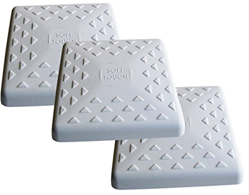 Soft Touch Replacement 14'' Little League Youth Baseball Bases - Set of 3 by SoftTouch