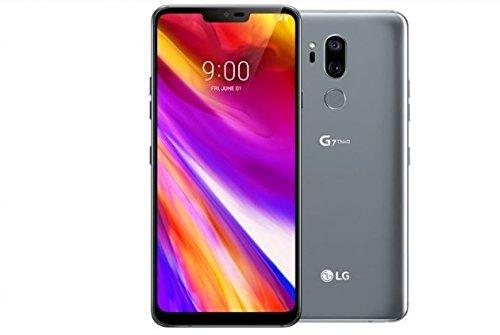 LG - G7 ThinQ for Verizon - 64GB - 6.1in QHD Display - Platinum Gray - US Warranty (Renewed)