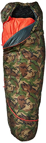 Kelty Bag Sleeping Mummy - Kelty Boys TRU Comfort 20 Degree Sleeping Bag, Camo/Fire Orange