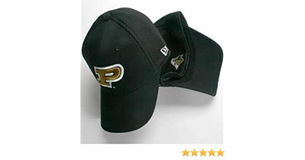c7705ddc737 Amazon.com   Purdue Boilermakers New Era Aflex Hat - Small - Medium   Sports  Fan Baseball Caps   Sports   Outdoors