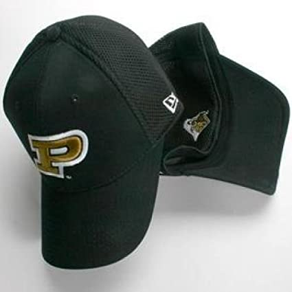 729c629485e Amazon.com   Purdue Boilermakers New Era Aflex Hat - Small - Medium ...