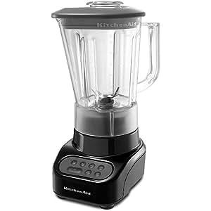 KitchenAid KSB465OB 4-Speed Blender with Polycarbonate Jar, Black