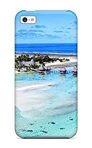 iPhone 5 5s Case, Premium Protective Case With Awesome Look - Bora Bora