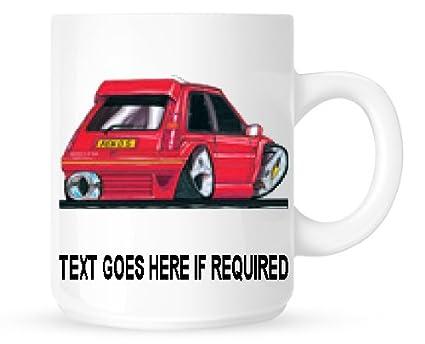 Eminence – Cojín personalizable, satinado, diseño 217 RENAULT GT TURBO taza (personalizable libre