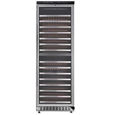 Thor Kitchen 156 Bottles Classic Stainless Wine Cooler
