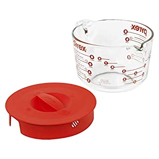 Pyrex Glass Measuring Cup Set (8-Cup, Microwave and Oven Safe )
