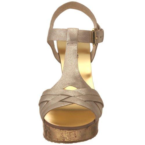Sandalo Ambrato Da Donna Michael Michael Michael, Oro Bianco, 8 M Us