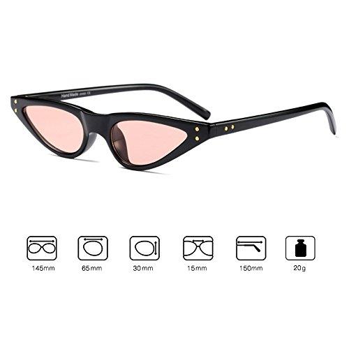 Lunettes UV400 Cat de Eye Sunglasses Femmes soleil Small Vintage Juleya C6 6xSHwUqI