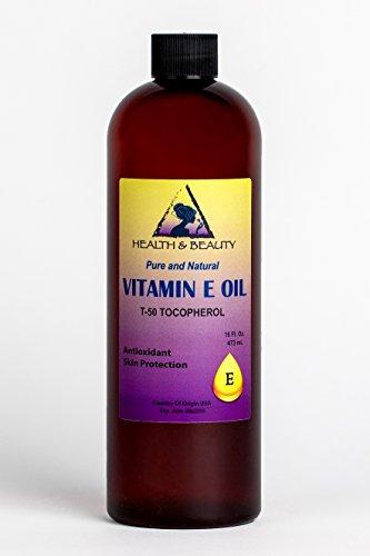 Tocopherol T-50 Vitamin E Oil Anti Aging Natural Premium Pure 16 oz