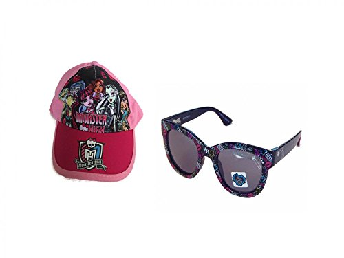 Monster High Baseball Cap PLUS Sunglasses Set (Hot Pink - Sunglasses Michelle