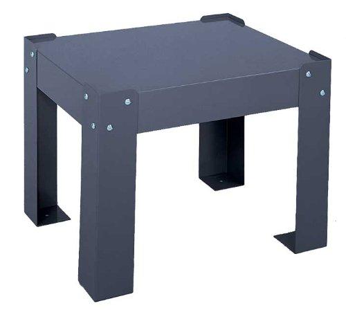 - Durham 315-95 Gray Steel Base for Small Slide Racks, 15-1/2