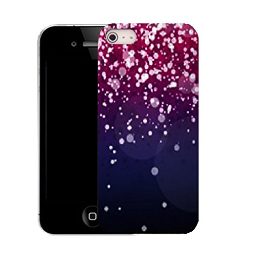 Mobile Case Mate IPhone 4 clip on Silicone Coque couverture case cover Pare-chocs + STYLET - falling gem pattern (SILICON)