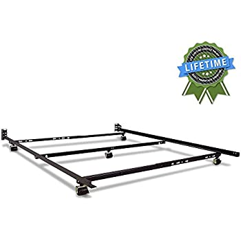 Amazon Com Restmore 46 Low Profile Bed Frame Full Queen