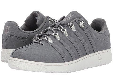 (ケースイス) K-Swiss メンズテニスシューズスニーカー靴 Classic VN SE [並行輸入品] B07541J3SW 31.0 cm D - M Charcoal/Lily White