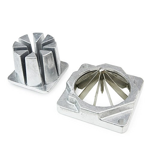 WYZworks Replacement Wedge Cut Blade Assembly and Pusher Block for Commercial French Fry Cutter