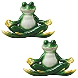 Design Toscano a Pose Zen Yoga Frog Statue (Set of 2) Review