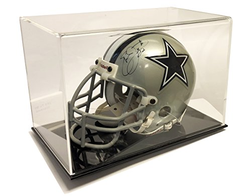 Ultra Max Clarity Deluxe Mini Football Helmet Display Case - UV ()