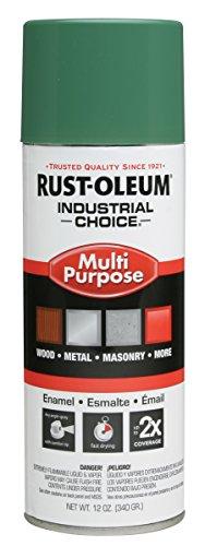 Rust-Oleum 202211 1600 Machine Green System General Purpose Enamel Aerosol, 20 oz Container Size, Aerosol Can (Pack of 6)