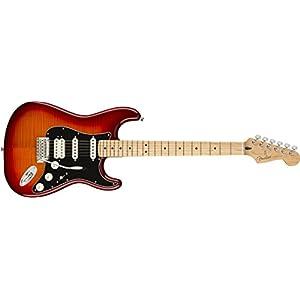 Player Stratocaster HSS Plus Top MN Aged Cherry Burst