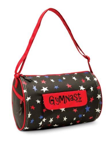DansBagz by Danshuz Patriotic Gymnast Bag O/S BLACK