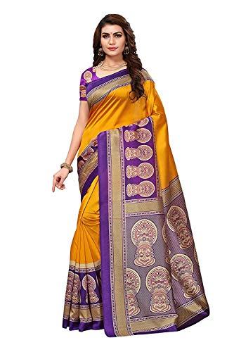 RR Crafts&Creations Women Fashion Saree,Traditional Saree,Party wear Mysore Art Silk Blended Saree
