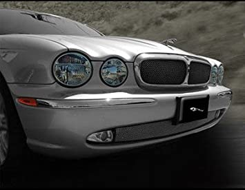 Lower Mesh Grille Insert For Jaguar XJ8 XJR 2004   2007 X350 Body