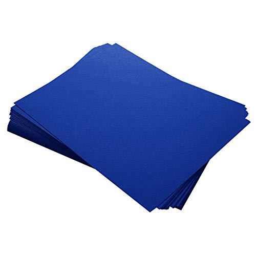 Curious Metallics Electric Blue Cardstock - 8 1/2 x 11, 111lb Cover, 25 - Cardstock Curious Metallic Paper