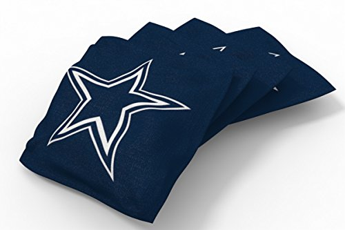 - PROLINE 6x6 NFL Dallas Cowboys Cornhole Bean Bags - Solid Design (A)