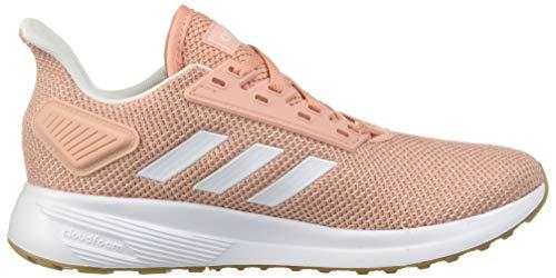 adidas Women's Duramo 9, Dust Pink/White/Clear Orange, 5.5