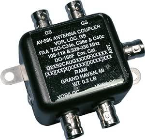 Acoplador de antena/Dual vor/Dual Glideslope/108 – 118 MHz ...