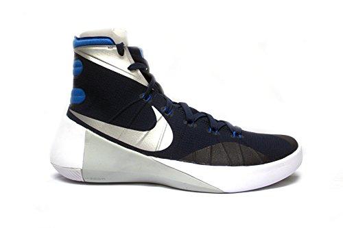 Nike Mens Hyperdunk 2015 Tb Basketbalschoen 749645 405 Marine
