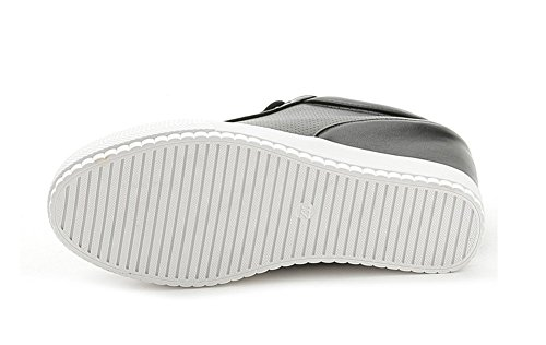 Mauea Femme Compensee Lacets Chaussures Sneakers Confort Cuir Basket Décontractées Mesh Dentelles Montante Sport FtEtq0rw