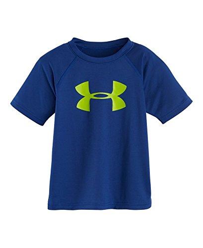 Under Armour Little Boys' Solid Logo Tee