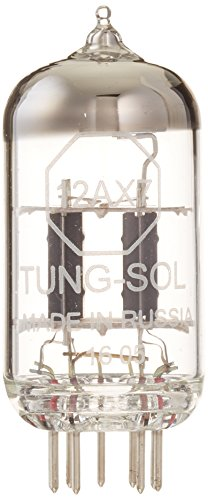 Tung-Sol 12AX7 Preamp Vacuum Tube, Single (Best Small Tube Amp For Recording)