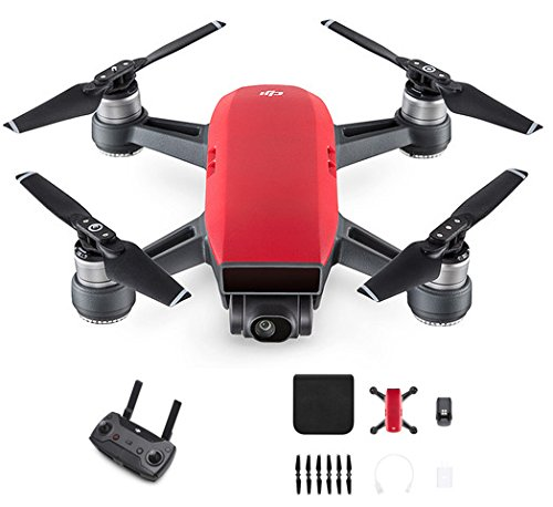 DJI Spark with Remote Control Combo (Red)