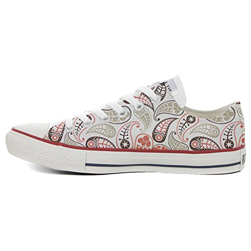 Your Sneaker Prodotto Artigianale Unisex all Converse Vintage Shoes Personalizzate Slim Make Paisley Star dT1q4xqw