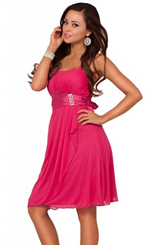 Hot from Hollywood Women's Sleeveless Sweetheart Sequins Layered Sheer Dress
